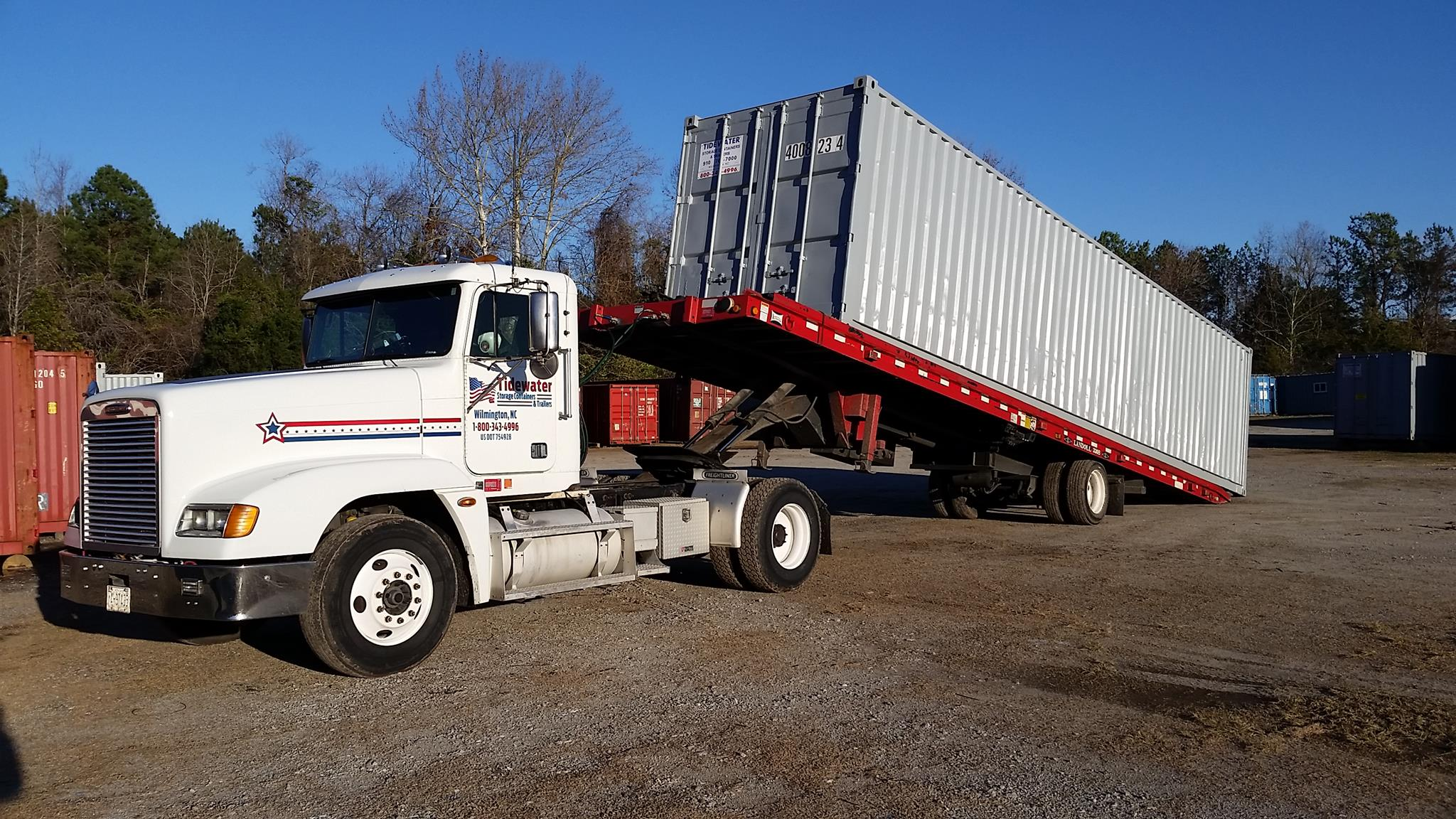 About Tidewater Tidewater Storage Trailers and Rentals Inc