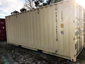20' One Trip Container - Side View
