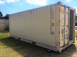 20' One Trip Open Side Container - Closed Side