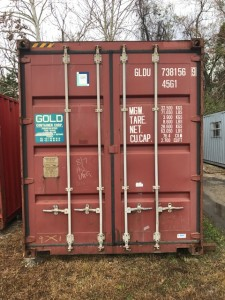 40' Grade B Container - Door End