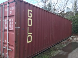 40' Grade B Container - Side View
